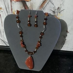 Semiprecious Jewlery Set